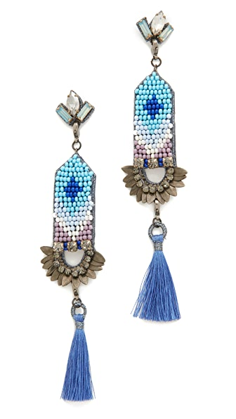 Deepa Gurnani Deepa by Deepa Gurnani Harmony Earrings - Blue