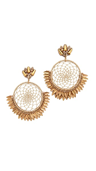 Deepa Gurnani Deepa By Deepa Gurnani Pixie Earrings - Gold
