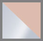 Silver/Peach