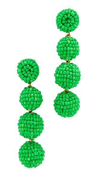Deepa Gurnani Deepa by Deepa Gurnani Jane Earrings - Green