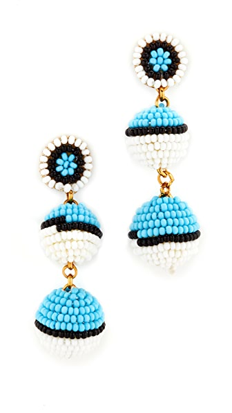 Deepa Gurnani Deepa by Deepa Gurnani Elizabeth Earrings