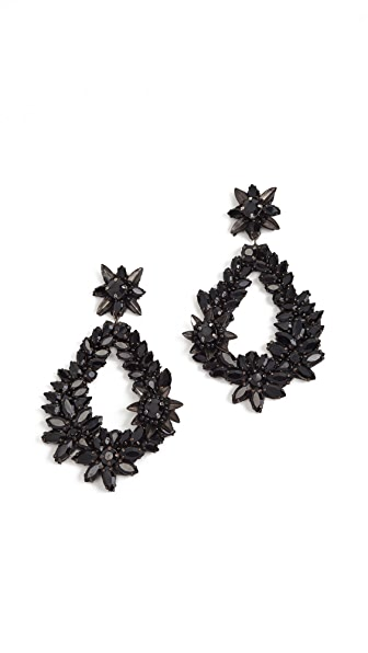 Deepa Gurnani Deepa by Deepa Gurnani Sarah Earrings In Black