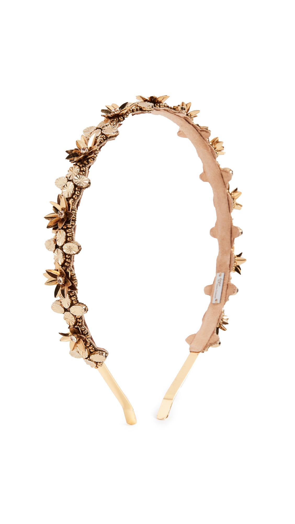 Kristin Headband, Gold