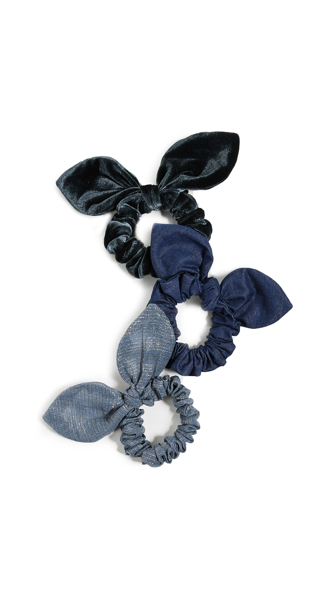 DEEPA GURNANI Reena Scrunchie Set in Multi