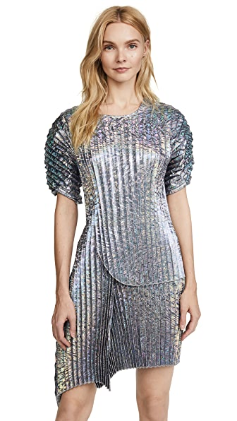 DELFI Collective Rei Dress In Silver