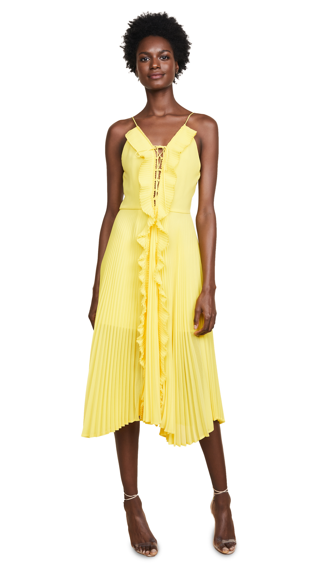 DELFI Collective Gwen Dress In Yellow