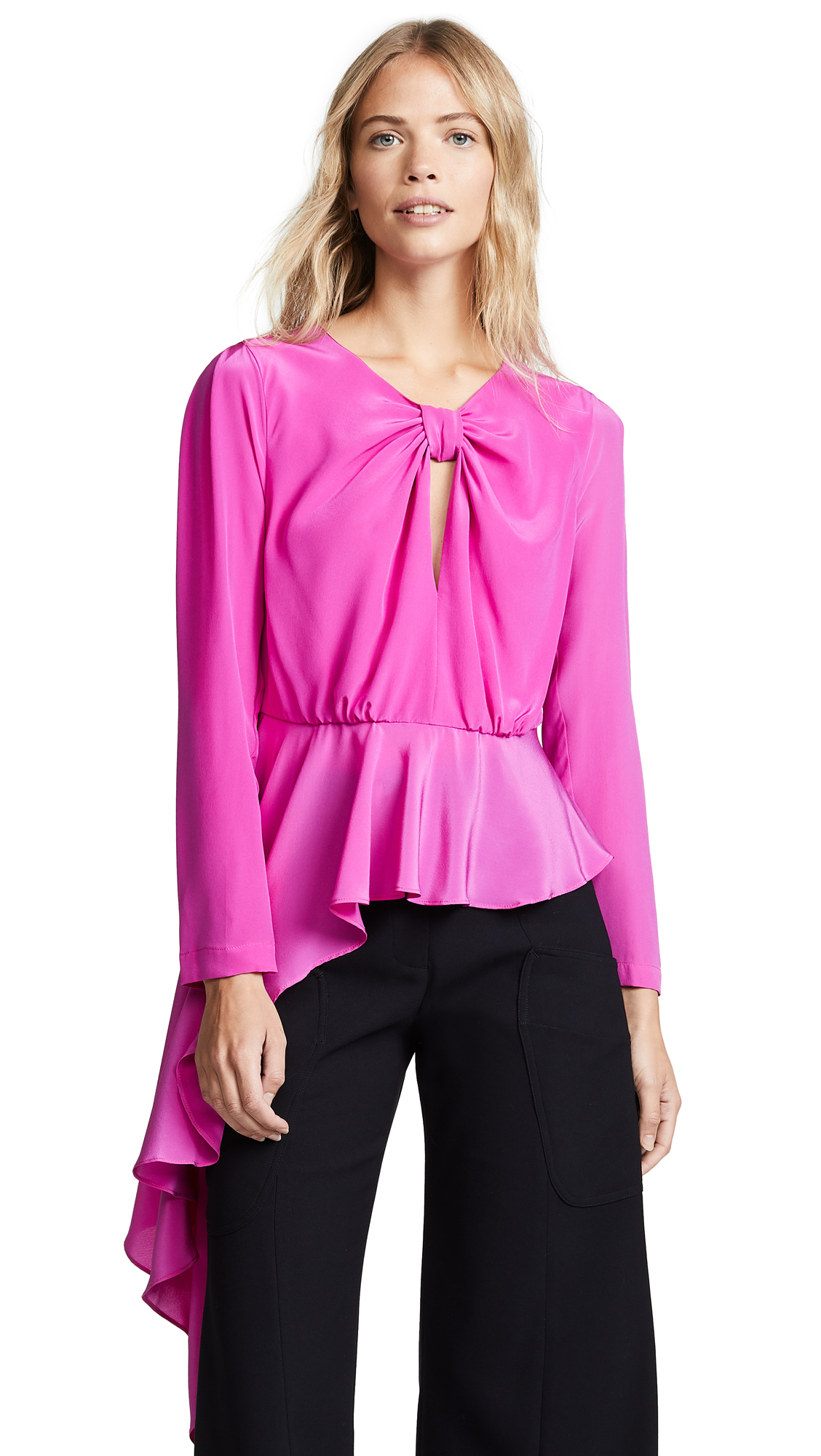 DELFI COLLECTIVE Lana Top in Pink