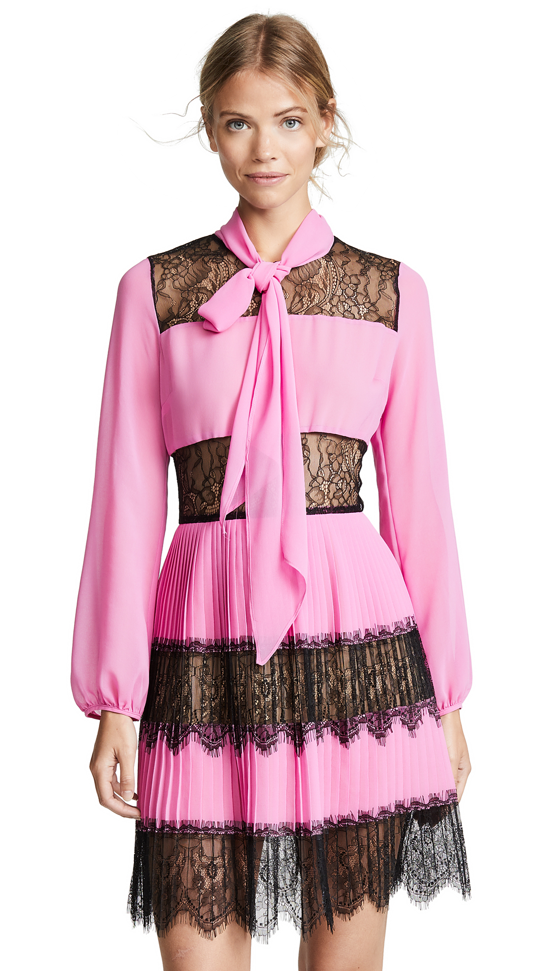 DELFI COLLECTIVE Dory Dress in Pink