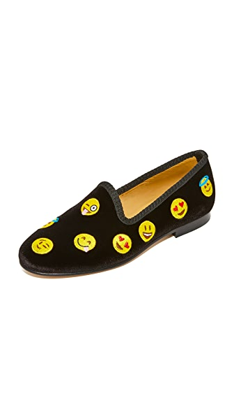 Del Toro Happy Days Smoking Slippers