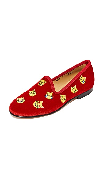 Del Toro Catattitude Smoking Slippers