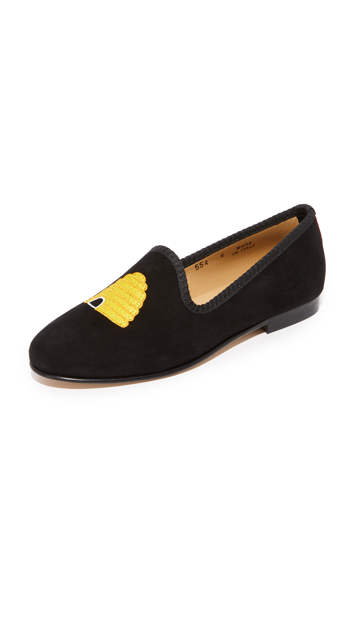 Del Toro Honey Pot Flats - Black