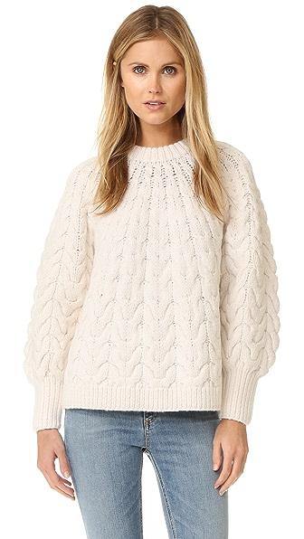 DEMYLEE Marion Sweater - White