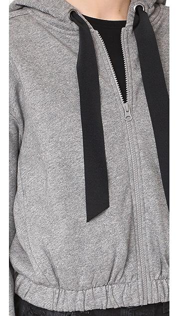 DEMYLEE Seanne Zip Up Sweatshirt
