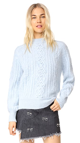 DEMYLEE Clifford Sweater In Powder Blue