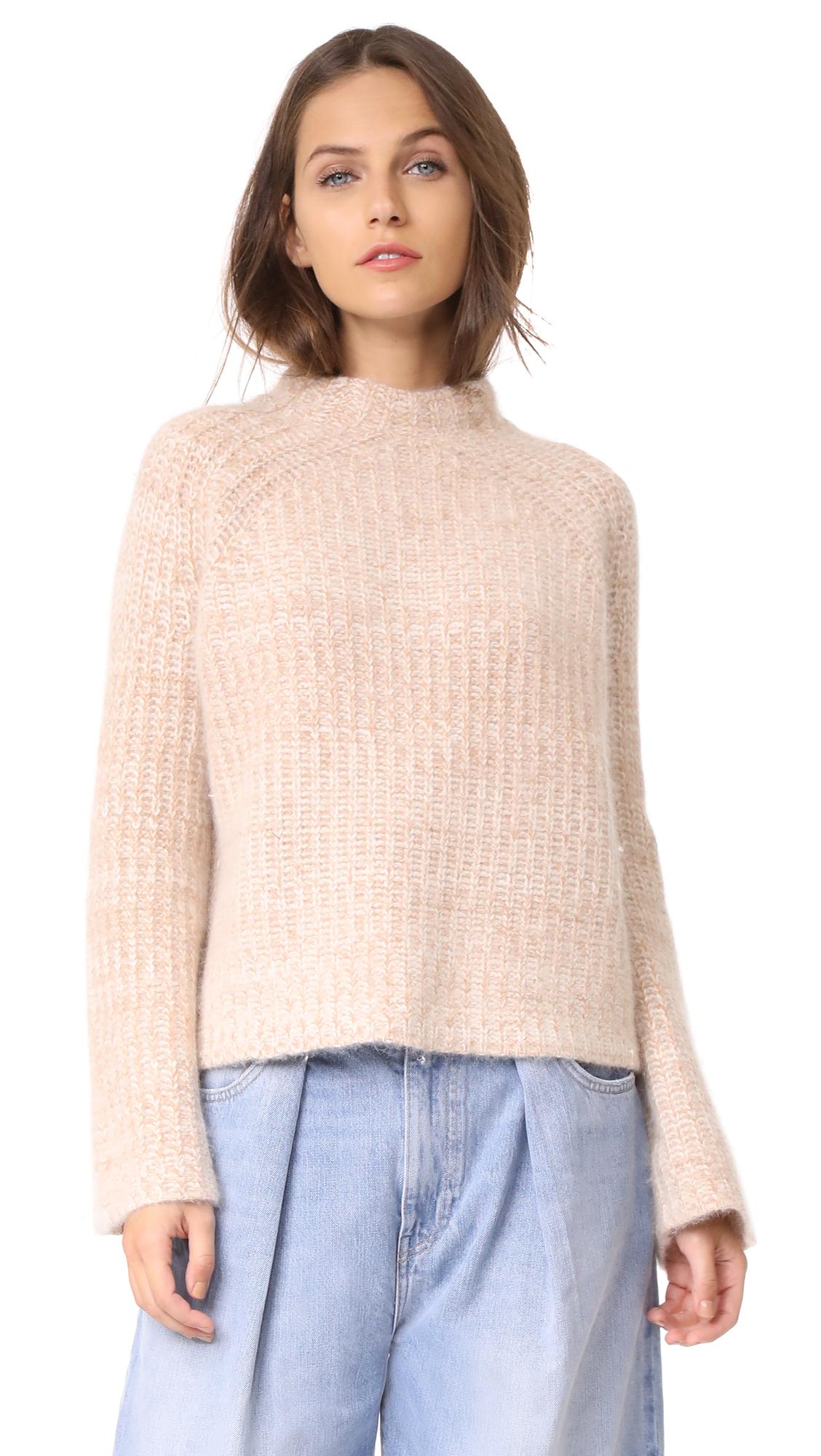 DEMYLEE Harris Sweater - Camel/White