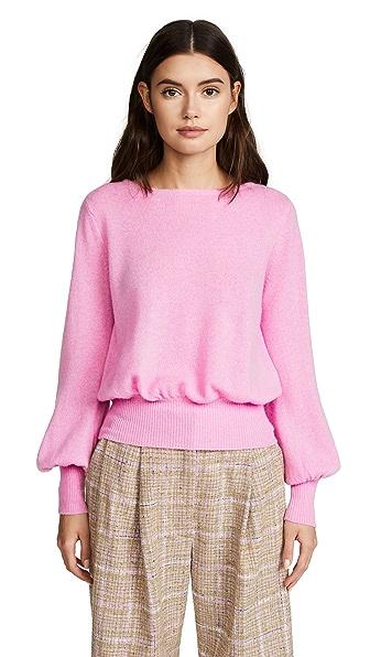 DEMYLEE Prescott Cashmere Sweater In Pink
