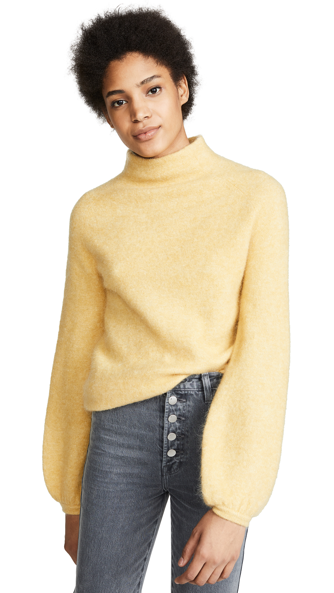 DEMYLEE Alabama Sweater in Canary