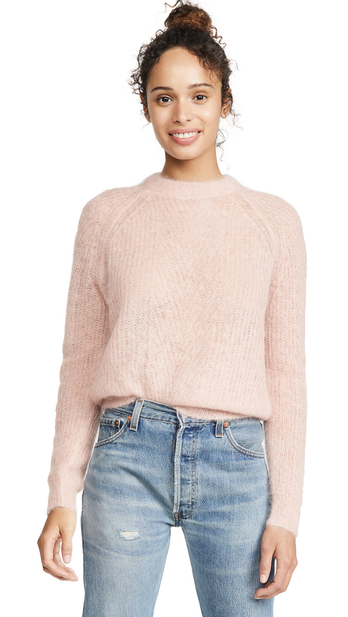 Buy DEMYLEE online - photo of DEMYLEE Chelsea Mohair Sweater