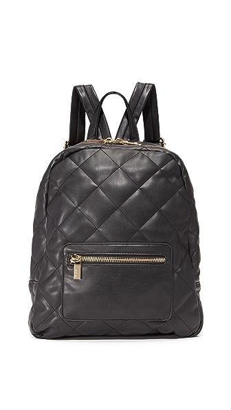 Deux Lux Billie Quilt Backpack - Black