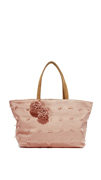 Deux Lux Объемная сумка с короткими ручками Blossoms