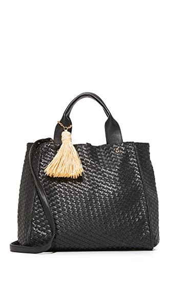 Deux Lux Объемная сумка с короткими ручками Hudson