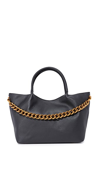 Deux Lux Roma East/West Tote In Black