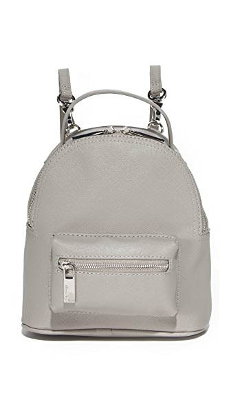 Deux Lux Annabelle Convertible Mini Backpack In Dove Grey
