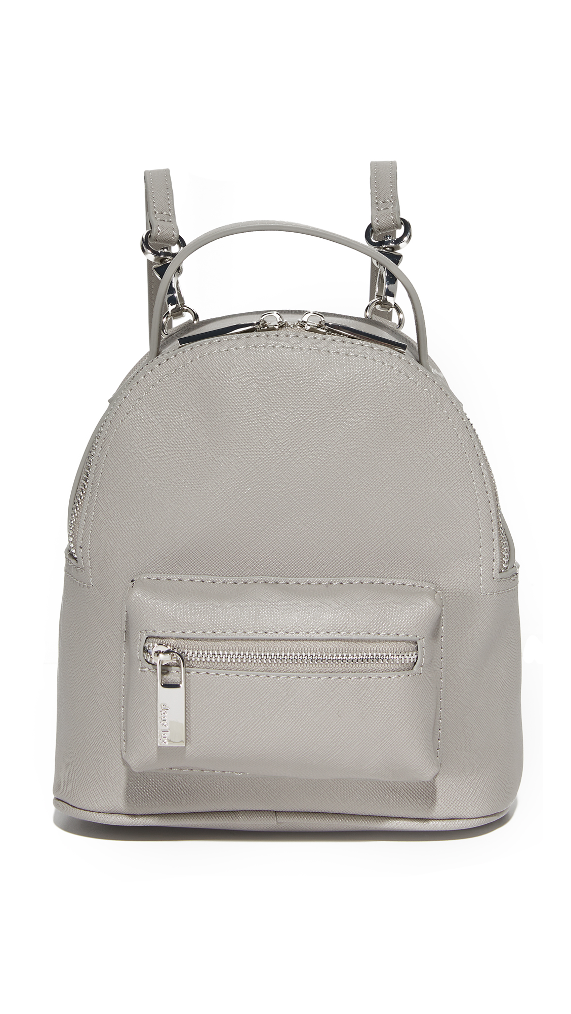 Deux Lux Annabelle Convertible Mini Backpack - Dove Grey