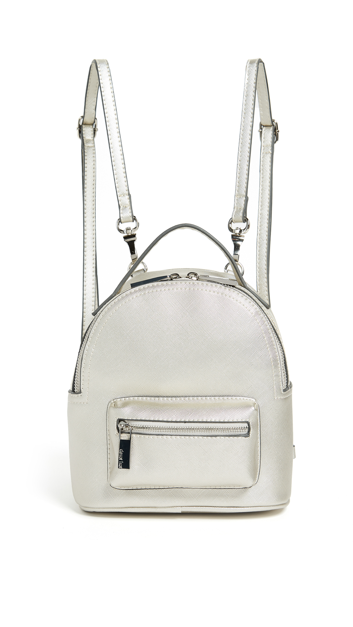 Deux Lux Annabelle Mini Backpack - Silver