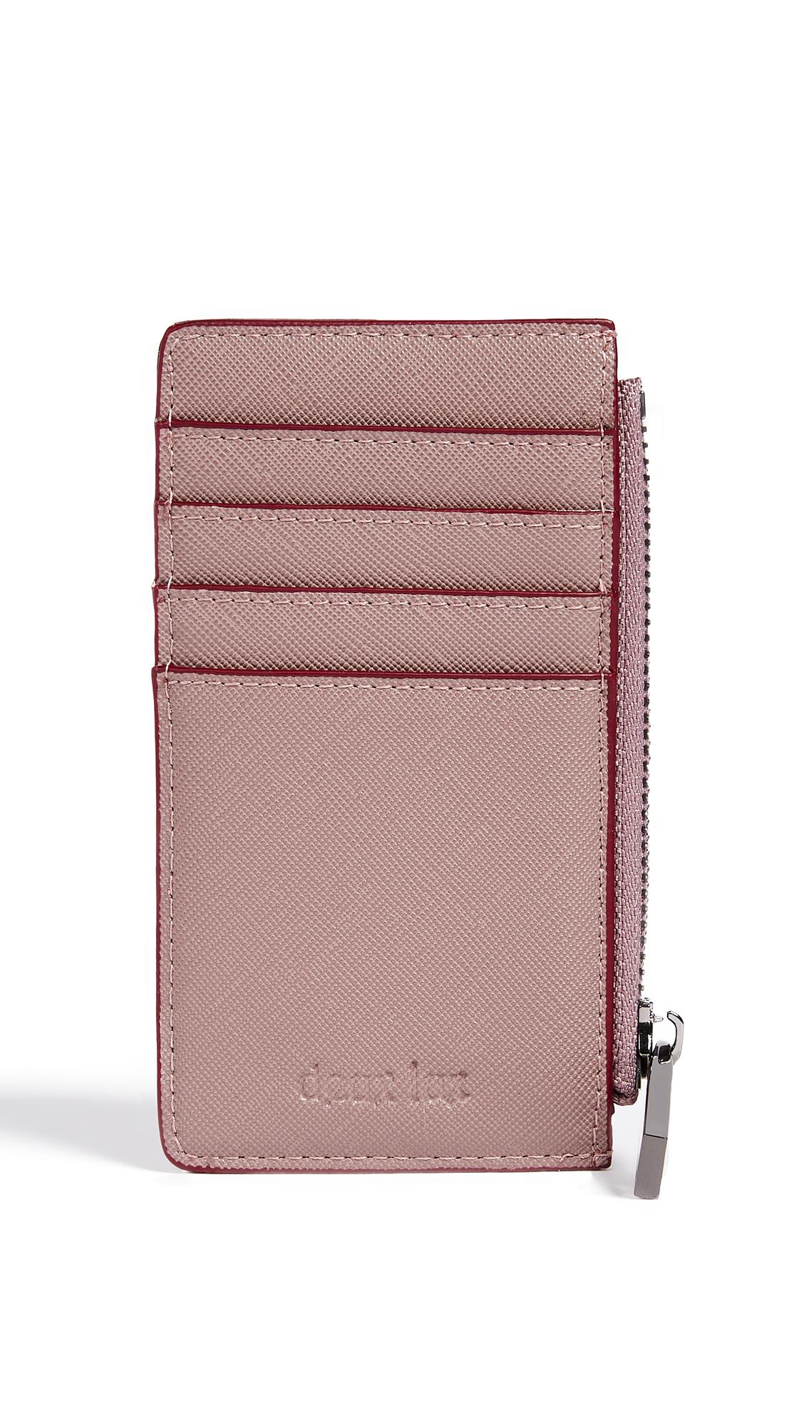 Deux Lux Rose Card Case - Mauve
