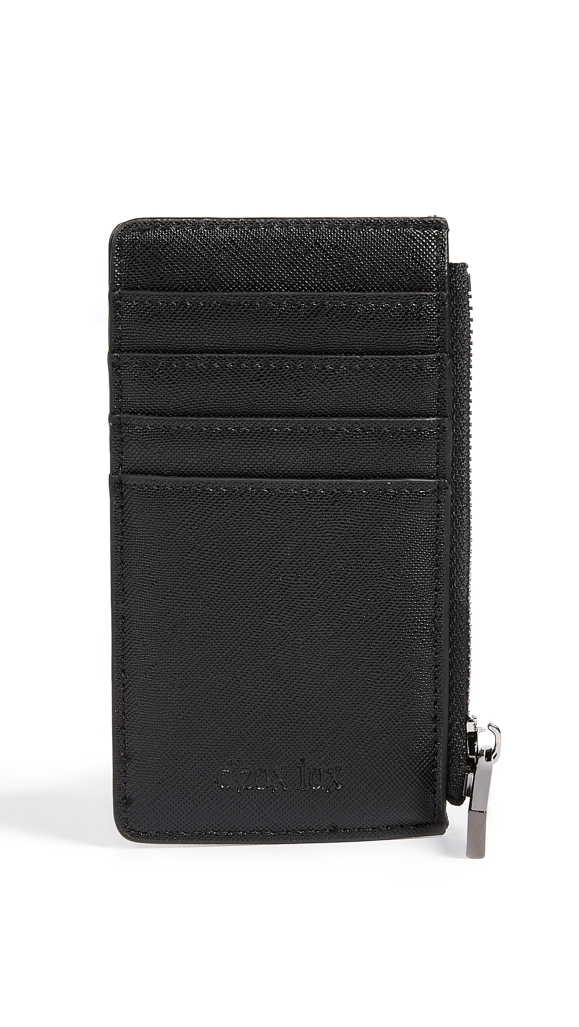 Deux Lux Rose Card Case - Black