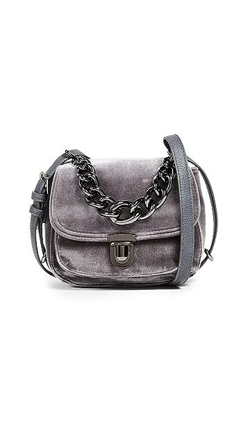 Deux Lux Roma Velvet Cross Body Bag