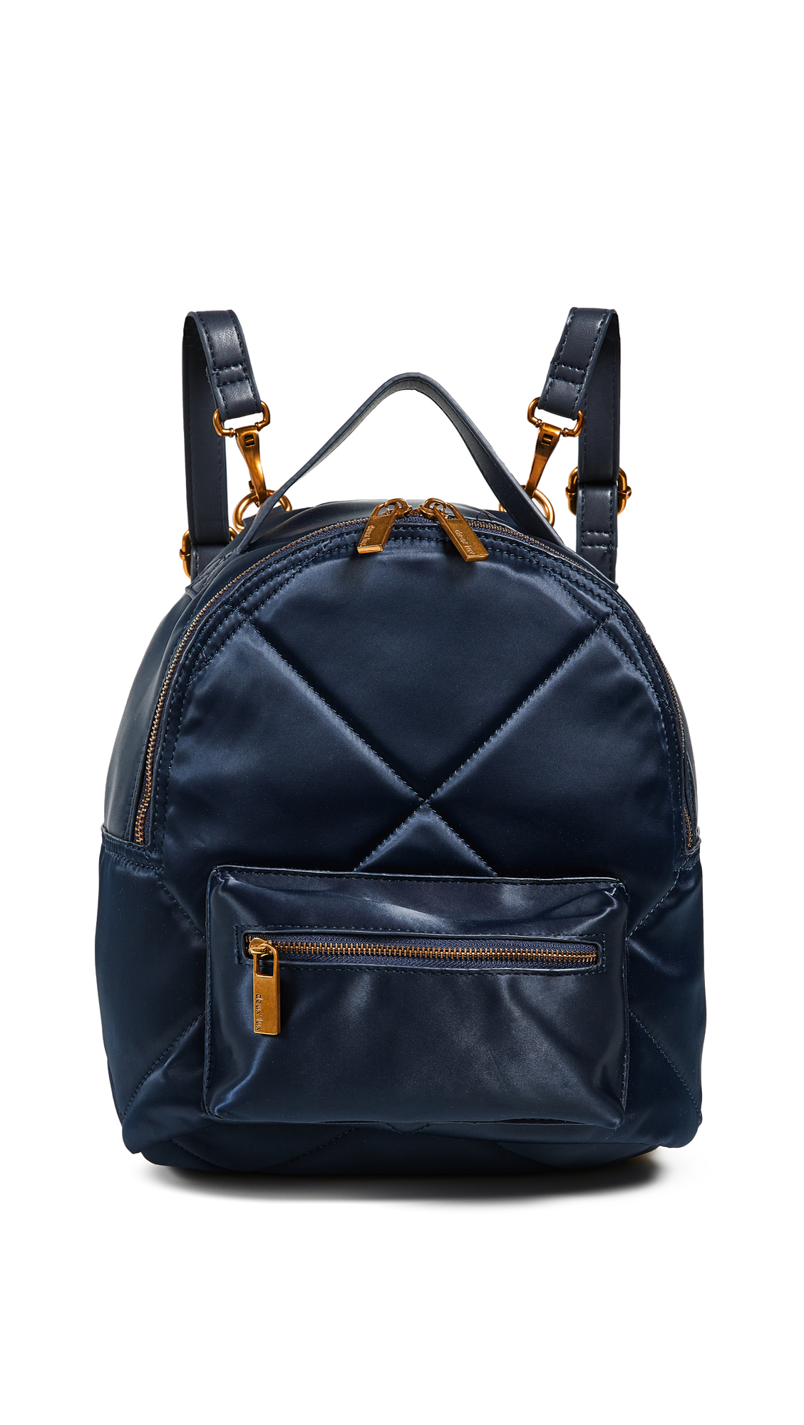 DEUX LUX Fiona Quilted Backpack in Midnight