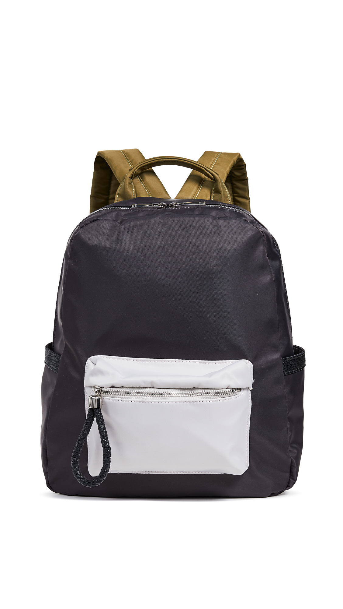 DEUX LUX X Shopbop Backpack in Grey Colorblock