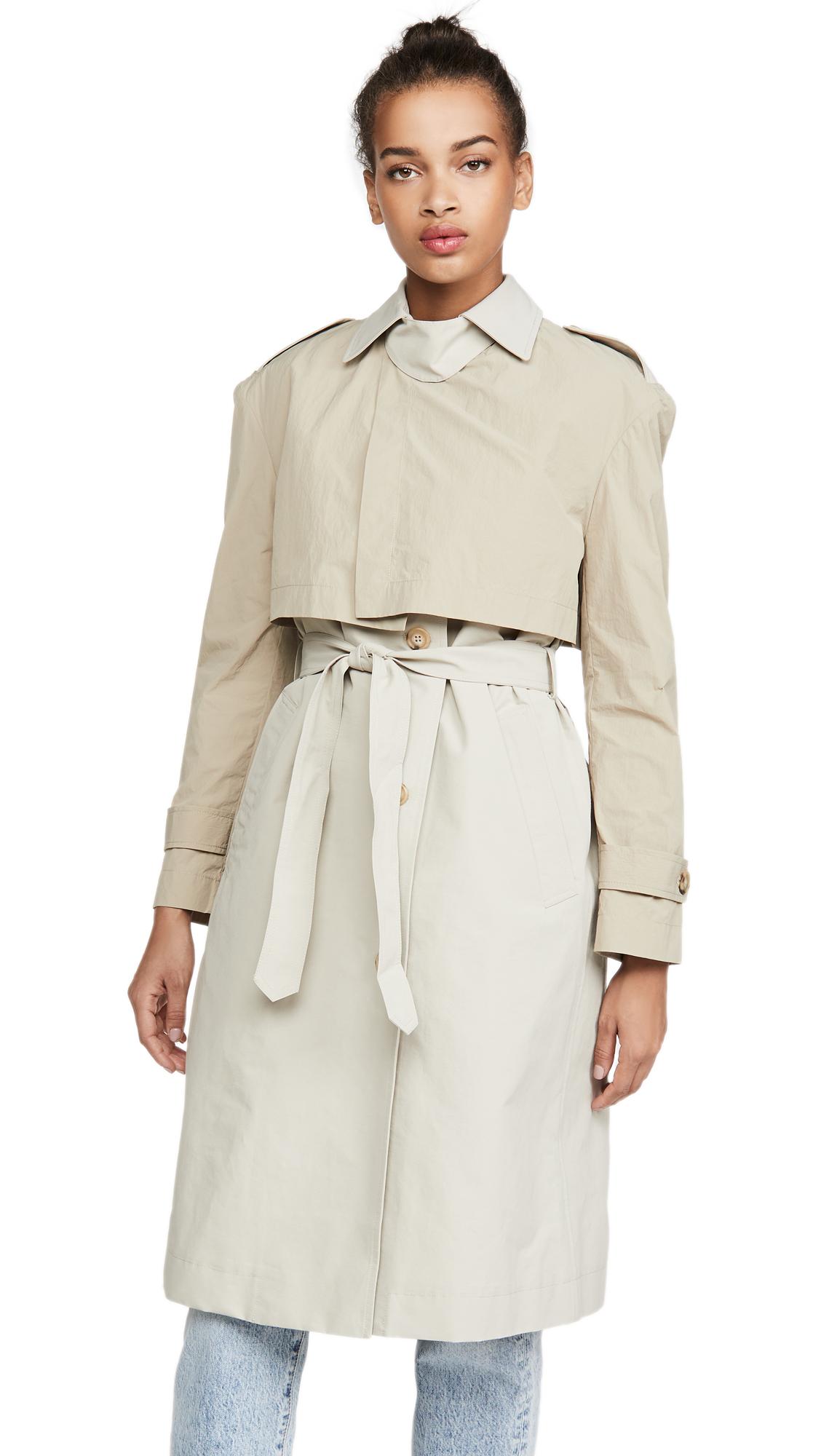 Buy Deveaux Ramya Coat online beautiful Deveaux Jackets, Coats, Trench Coats