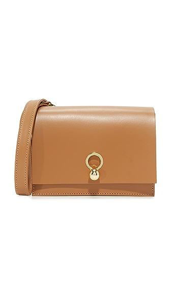 Danielle Foster Charlie Cross Body Bag In Tan