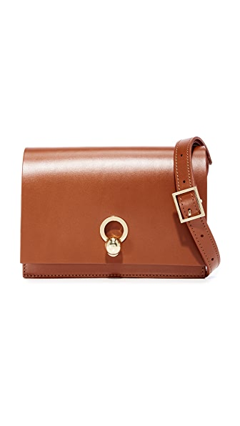 Danielle Foster Charlie Box Bag - Tan