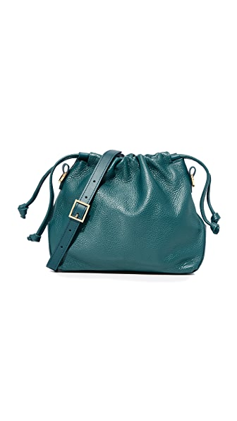 Danielle Foster Bella Mini Bag - Petrol Green