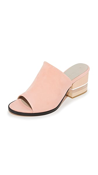 Dear Frances Poser Mules - Musk at Shopbop