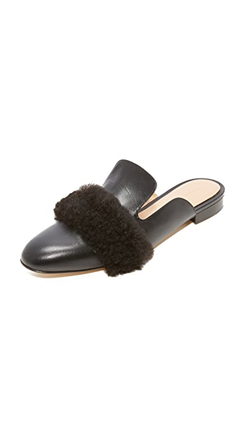 Dear Frances Lounge Loafer Mules