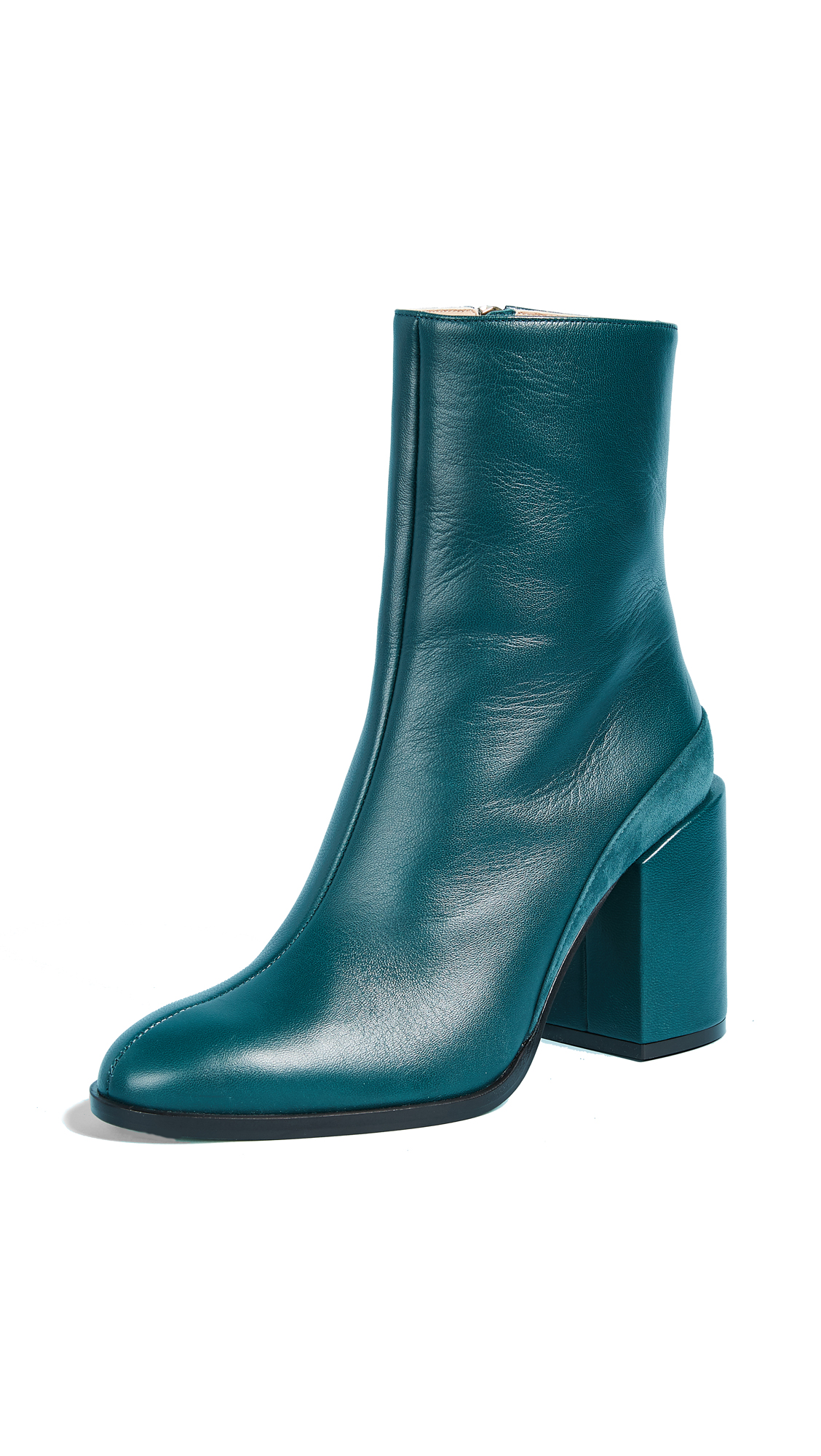 Dear Frances Spirit Booties - Teal