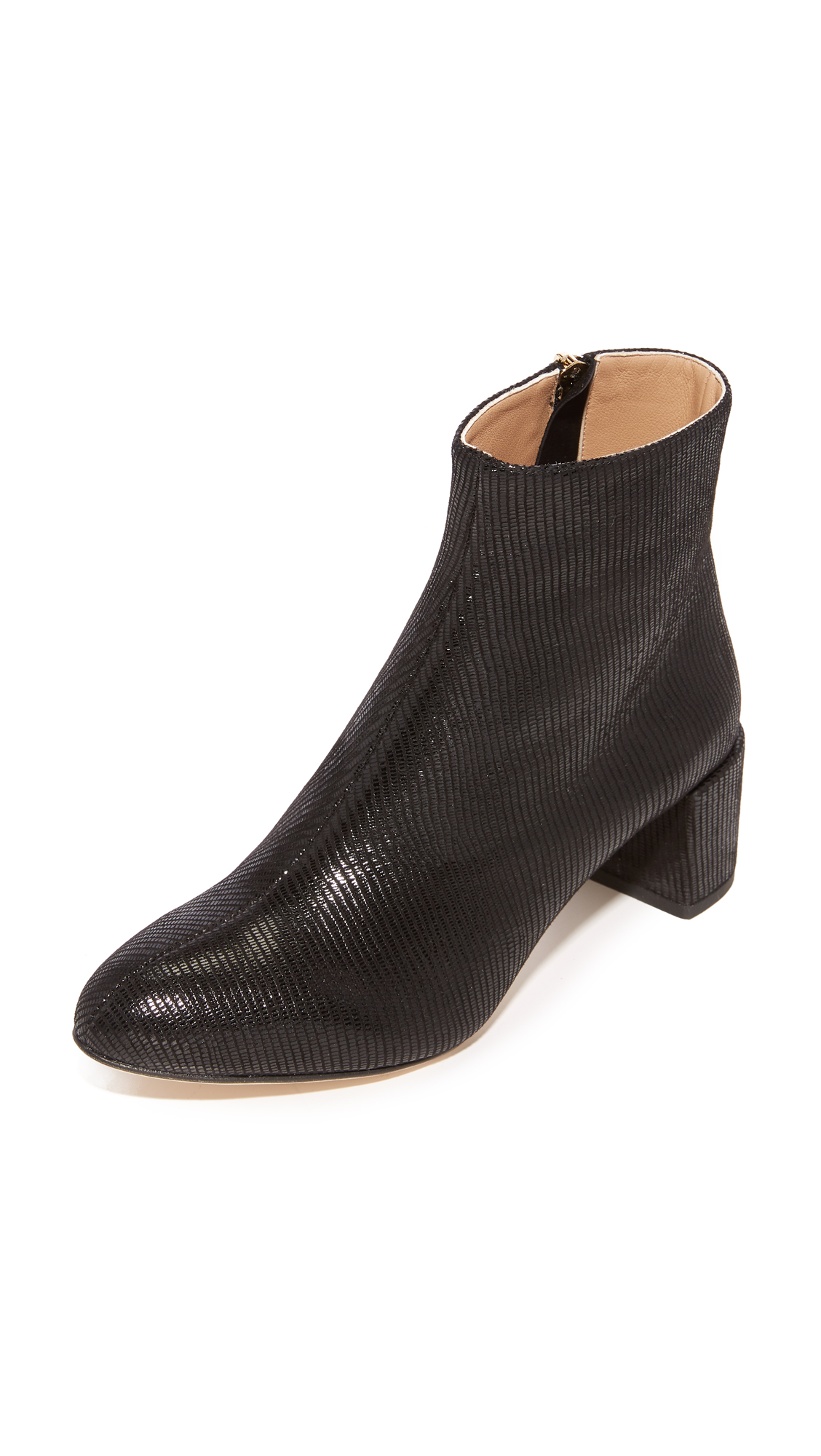 Dear Frances Vera Booties - Black