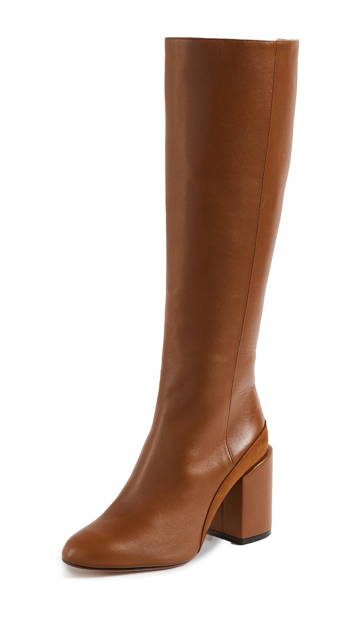 Dear Frances Elle Knee Boots - Copper