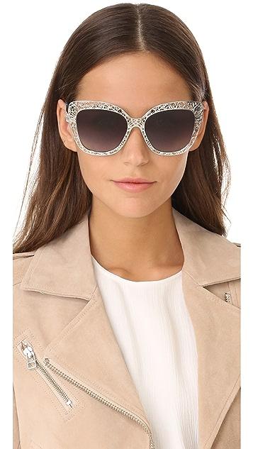 Dolce & Gabbana Lace Sunglasses