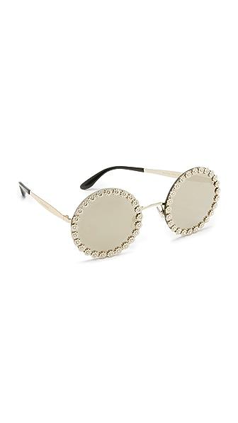 Dolce & Gabbana Круглые солнцезащитные очки Daisy