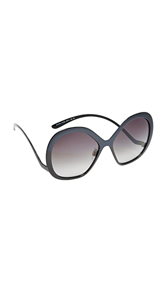 Dolce & Gabbana Tropico Sunglasses - Black/Grey