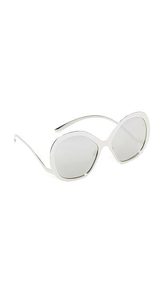 Dolce & Gabbana Tropico Sunglasses - Silver/Silver