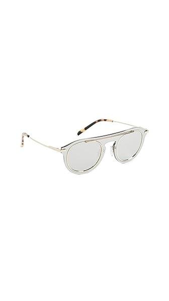 Dolce & Gabbana Flat Top Sunglasses at Shopbop