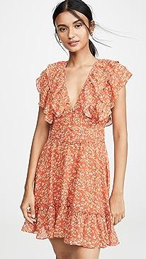 ced8326de80a Divine Heritage. Short Sleeve Ruffle Dress