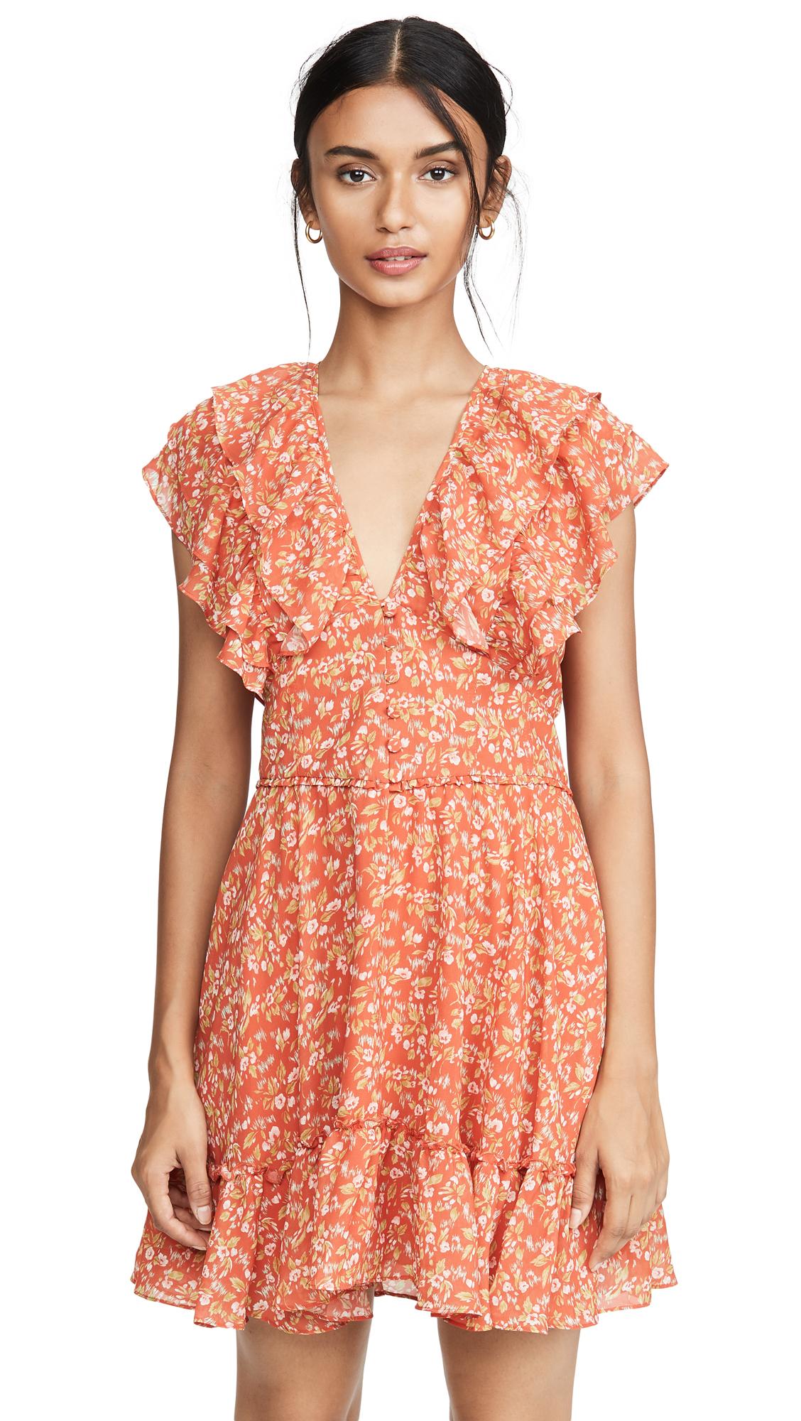 Buy Divine Heritage online - photo of Divine Heritage Short Sleeve Ruffle Dress